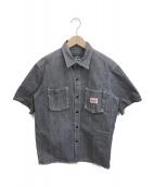 ()の古着「ワークシャツ」|インディゴ