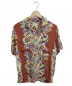 THE FLAT HEAD(ザ・フラットヘッド)の古着「アロハシャツ」|ブラウン