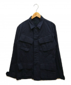 Junhashimoto()の古着「ジャングルファテイーグジャケット」|ブラック