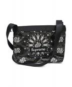 ()の古着「Supreme Bandana Tarp Side Bag」|ブラック