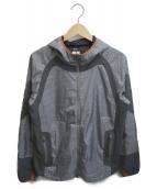 GYAKUSOU(ギャクソウ)の古着「トレーニングナイロンジャケット」|グレー