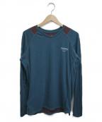 GYAKUSOU(ギャクソウ)の古着「長袖Tシャツ」 グリーン