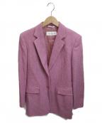 MaxMara()の古着「ウールチェスターコート」|ピンク