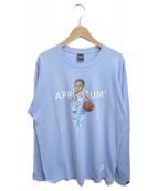 APPLEBUM(アップルバム)の古着「North Carolina Boy Long sleeve」|ブルー