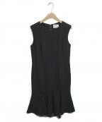GRACE CLASS()の古着「ノースリーブワンピース」|ブラック