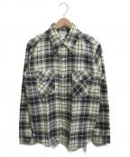 Joe McCOY(ジョーマッコイ)の古着「8アワーユニオンチェックシャツ」|イエロー