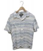 ()の古着「オープンカラーシャツ」|ホワイトインディゴ