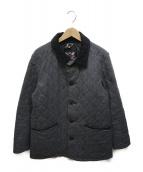 ()の古着「キルティングジャケット」|グレー