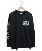 SUPREME(シュプリーム)の古着「エッシャーアイロングスリーブTee」|ブラック