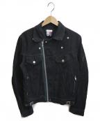 FACETASM()の古着「ライダーストラッカージャケット」 ブラック
