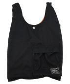 PORTER(ポーター)の古着「ショッピングエコバッグ」|ブラック