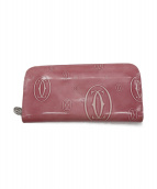 Cartier(カルティエ)の古着「長財布」|ピンク