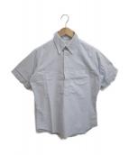 INDIVIDUALIZED SHIRTS(インディビジュアライズドシャツ)の古着「ボックス半袖BDシャツ」|スカイブルー