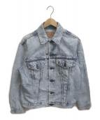 LEVIS(リーバイス)の古着「ケミカルウォッシュデニムジャケット」|インディゴ