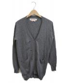 ()の古着「Vネックカーディガン」|グレー