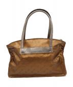 GHERARDINI(ゲラルディーニ)の古着「ナイロントートバッグ」|シャンパンゴールド