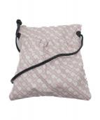 ()の古着「ナイロンショルダーバッグ」|ホワイト×ピンク