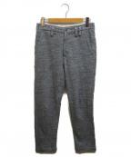 JACKMAN(ジャックマン)の古着「ジャガード編みスウェットパンツ」 グレー