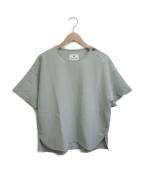 Snow peak()の古着「Breathable Soft Shirt」|グリーン