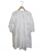 Rirandture(リランドチュール)の古着「裾刺繍ティアードワンピース」|ホワイト