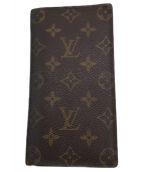 LOUIS VUITTON(ルイ ヴィトン)の古着「札入れ」 ブラウン