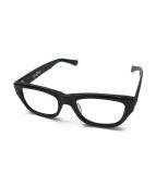 ()の古着「セルロイド伊達眼鏡」|ブラック