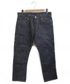 BURGUS PLUS(バーガスプラス)の古着「15oz Standard Selvedge Jeans」 インディゴ