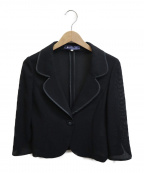 MS GRACY(エムズグレイシー)の古着「パイピングセットアップ」|ブラック