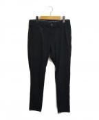 SOLIDO(ソリード)の古着「別注度詰コットンパンツ」|ブラック