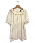 LOUIS VUITTON(ルイ ヴィトン)の古着「フリルカットソー」 ホワイト