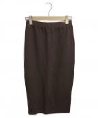 Americana(アメリカーナ)の古着「スウェットスカート」|ブラウン