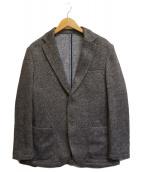 ()の古着「セットアップニットジャケット」 グレー