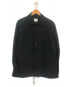 ()の古着「イージーコーチジャケット」 ブラック