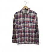 Joe McCOY(ジョーマッコイ)の古着「チェックシャツ」|レッド
