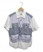 GANRYU(ガンリュウ)の古着「フィッシングシャツ」 ブルー