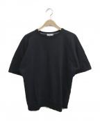 nanamica(ナナミカ)の古着「クルーネックスウェット」|ブラック