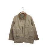 POLO COUNTRY(ポロカントリー)の古着「リバーシブルハンティングジャケット」 ベージュ