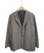 BEAMS()の古着「リンクル 2ボタン ジャケット」|グリーン