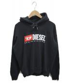 DIESEL(ディーゼル)の古着「ロゴPOパーカー」|ブラック