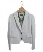 TOMORROW LAND collection(トゥモローランドコレクション)の古着「ジャージー1Bテーラードジャケット」|グレー