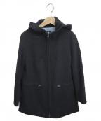 TOMORROW LAND collection(トゥモローランドコレクション)の古着「フーデッドコート」|ネイビー