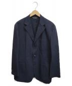 BROOKS BROTHERS(ブルックスブラザーズ)の古着「ストレッチ度詰め3Bジャケット」|ネイビー