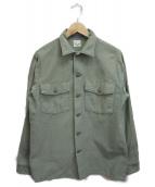 orSlow(オアスロウ)の古着「U.S.ARMYミリタリーシャツ」 グリーン
