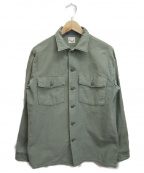 orSlow(オアスロウ)の古着「U.S.ARMYミリタリーシャツ」|グリーン