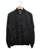 ALPHA(アルファ)の古着「MA-1ジャケット」 ブラック