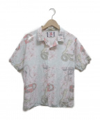 son of the cheese((サノバチーズ))の古着「DINA GADIA SHIRTS」|グリーン