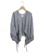 SOU・SOU(ソウソウ)の古着「ステッチデザイン羽織」|グレー