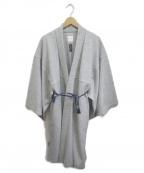 SOU・SOU(ソウソウ)の古着「ウール小袖羽織」|グレー