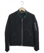 KURO(クロ)の古着「ウールスポーツジャケット」|ブラック
