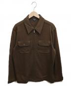 Paul Smith COLLECTION(ポールスミスコレクション)の古着「ジップアップジャケット」 ブラウン
